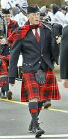 Marching in the Scituate, MA St. Patrick's Parade.
