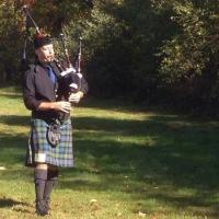 Participating in solo competitions is one of the ways I like to keep pushing myself to grow as a piper. This was in Scotland, CT.